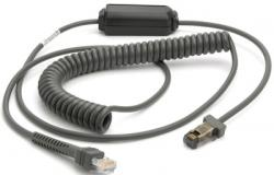 Cable IBM 468x/9x 2.8m spiralé Port 9B