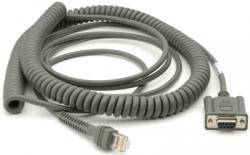 Cable RS232 6m spiralé Fujitsu T POS 500 ICL